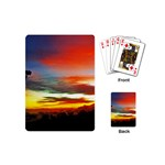 Sunset Mountain Indonesia Adventure Playing Cards (Mini)