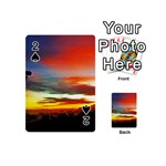 Sunset Mountain Indonesia Adventure Playing Cards 54 (Mini)