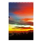 Sunset Mountain Indonesia Adventure Shower Curtain 48  x 72  (Small)