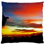 Sunset Mountain Indonesia Adventure Large Cushion Case (Two Sides)