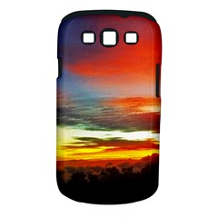 Sunset Mountain Indonesia Adventure Samsung Galaxy S Iii Classic Hardshell Case (pc+silicone) by Celenk