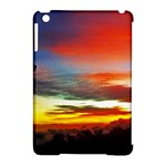 Sunset Mountain Indonesia Adventure Apple iPad Mini Hardshell Case (Compatible with Smart Cover)