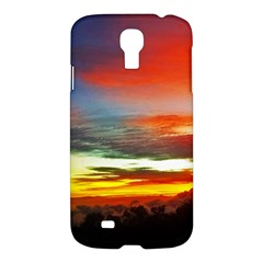 Sunset Mountain Indonesia Adventure Samsung Galaxy S4 I9500/i9505 Hardshell Case by Celenk