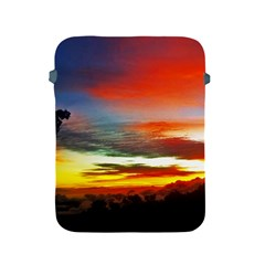 Sunset Mountain Indonesia Adventure Apple Ipad 2/3/4 Protective Soft Cases by Celenk