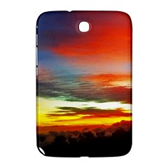 Sunset Mountain Indonesia Adventure Samsung Galaxy Note 8 0 N5100 Hardshell Case  by Celenk