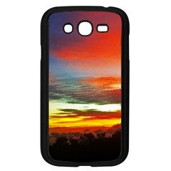 Sunset Mountain Indonesia Adventure Samsung Galaxy Grand Duos I9082 Case (black) by Celenk