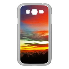 Sunset Mountain Indonesia Adventure Samsung Galaxy Grand Duos I9082 Case (white) by Celenk