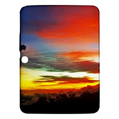 Sunset Mountain Indonesia Adventure Samsung Galaxy Tab 3 (10 1 ) P5200 Hardshell Case  by Celenk