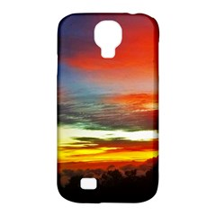 Sunset Mountain Indonesia Adventure Samsung Galaxy S4 Classic Hardshell Case (pc+silicone) by Celenk