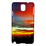 Sunset Mountain Indonesia Adventure Samsung Galaxy Note 3 N9005 Hardshell Case