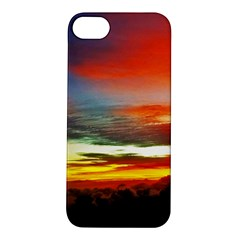 Sunset Mountain Indonesia Adventure Apple Iphone 5s/ Se Hardshell Case by Celenk
