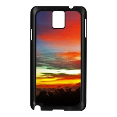 Sunset Mountain Indonesia Adventure Samsung Galaxy Note 3 N9005 Case (black) by Celenk