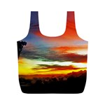 Sunset Mountain Indonesia Adventure Full Print Recycle Bags (M)