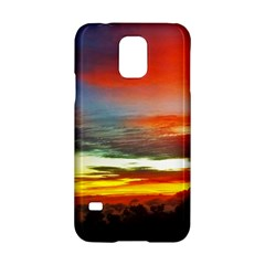 Sunset Mountain Indonesia Adventure Samsung Galaxy S5 Hardshell Case  by Celenk