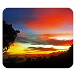 Sunset Mountain Indonesia Adventure Double Sided Flano Blanket (Small)