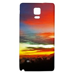 Sunset Mountain Indonesia Adventure Galaxy Note 4 Back Case by Celenk