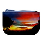 Sunset Mountain Indonesia Adventure Large Coin Purse