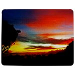 Sunset Mountain Indonesia Adventure Jigsaw Puzzle Photo Stand (Rectangular)