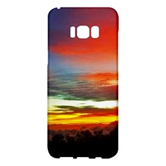 Sunset Mountain Indonesia Adventure Samsung Galaxy S8 Plus Hardshell Case  by Celenk