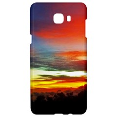 Sunset Mountain Indonesia Adventure Samsung C9 Pro Hardshell Case  by Celenk