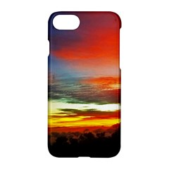 Sunset Mountain Indonesia Adventure Apple Iphone 8 Hardshell Case by Celenk