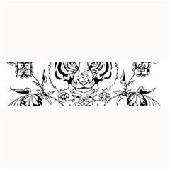Tiger Animal Decoration Flower Large Bar Mats