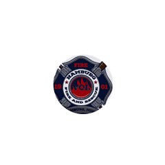 Hamburg, Minn Fire Dept 1  Mini Buttons by teambridelasvegas