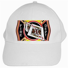 Las Vegas Fire Department White Cap by teambridelasvegas