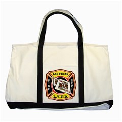 Las Vegas Fire Department Two Tone Tote Bag by teambridelasvegas