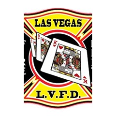 Las Vegas Fire Department Shower Curtain 48  X 72  (small)  by allthingseveryday