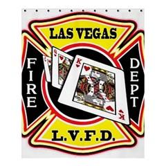 Las Vegas Fire Department Shower Curtain 60  X 72  (medium)  by teambridelasvegas