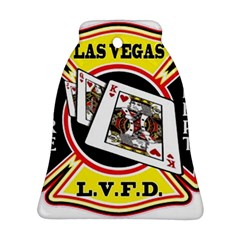 Las Vegas Fire Department Ornament (bell) by teambridelasvegas