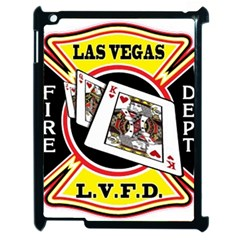 Las Vegas Fire Department Apple Ipad 2 Case (black) by allthingseveryday