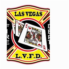 Las Vegas Fire Department Small Garden Flag (two Sides)