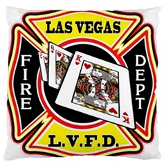 Las Vegas Fire Department Large Cushion Case (two Sides) by teambridelasvegas