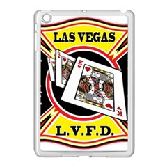 Las Vegas Fire Department Apple Ipad Mini Case (white) by allthingseveryday