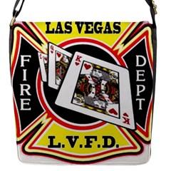 Las Vegas Fire Department Flap Messenger Bag (s) by allthingseveryday