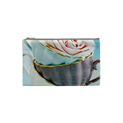 Tea Cups Cosmetic Bag (small)  by 8fugoso