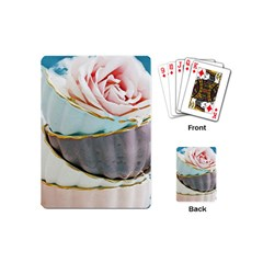 Tea Cups Playing Cards (mini)  by 8fugoso