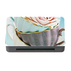 Tea Cups Memory Card Reader With Cf by 8fugoso