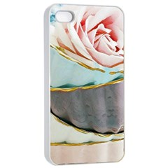 Tea Cups Apple Iphone 4/4s Seamless Case (white) by 8fugoso