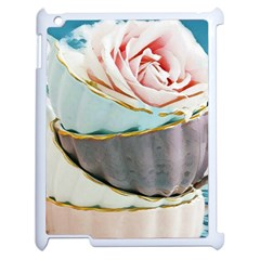 Tea Cups Apple Ipad 2 Case (white) by 8fugoso