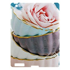 Tea Cups Apple Ipad 3/4 Hardshell Case by 8fugoso