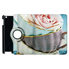Tea Cups Apple Ipad 3/4 Flip 360 Case by 8fugoso