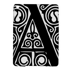 Alphabet Calligraphy Font A Letter Ipad Air 2 Hardshell Cases by Celenk
