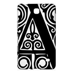 Alphabet Calligraphy Font A Letter Samsung Galaxy Tab 4 (7 ) Hardshell Case  by Celenk