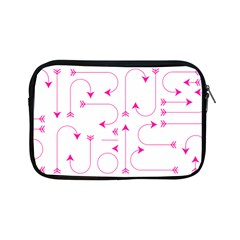 Arrows Girly Pink Cute Decorative Apple Ipad Mini Zipper Cases by Celenk