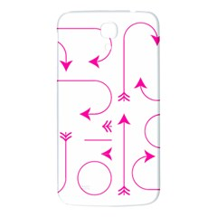 Arrows Girly Pink Cute Decorative Samsung Galaxy Mega I9200 Hardshell Back Case by Celenk