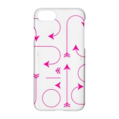 Arrows Girly Pink Cute Decorative Apple Iphone 8 Hardshell Case