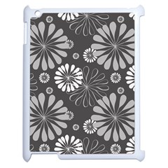 Floral Pattern Floral Background Apple Ipad 2 Case (white) by Celenk
